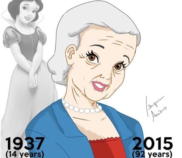 Kr�lewna �nie�ka mia�aby dzisiaj 92 lata! A Kopciuszek i Bella? Bohaterki bajek te� si� starzej� [GALERIA]