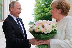 USA zahamowały porozumienie Merkel z Putinem w sprawie Nord Stream 2