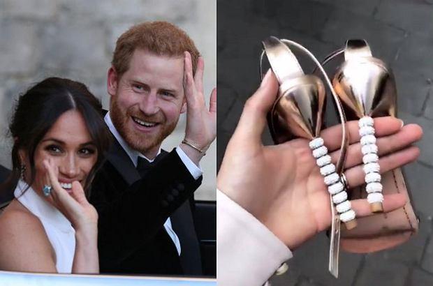 Cały dzień w niewygodnych szpilkach na weselu? Nie u Harry'ego i Meghan! Para młoda miała dla gości... wygodne kapcie.