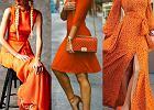 pomarańczowe stylizacje