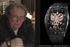 """""""Dumny z bycia Rosjaninem"""" Depardieu reklamuje lini� zegark�w"""