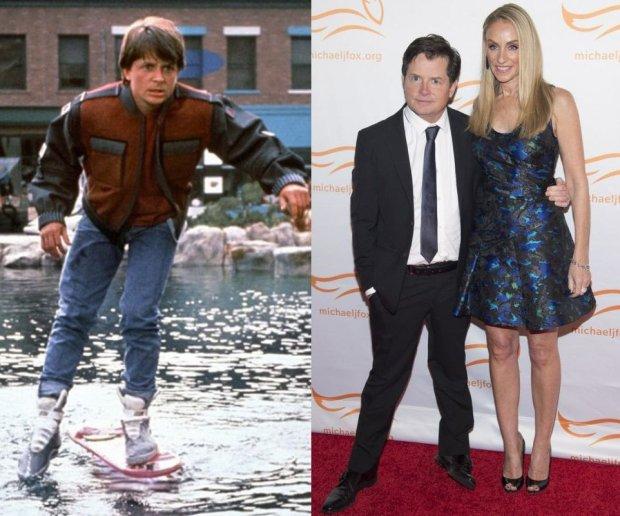 Michael J. Fox jako Marty McFly