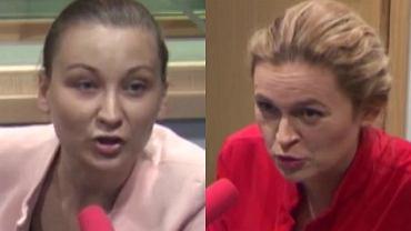 Paulina Piechna-Więckiewicz i Barbara Nowacka