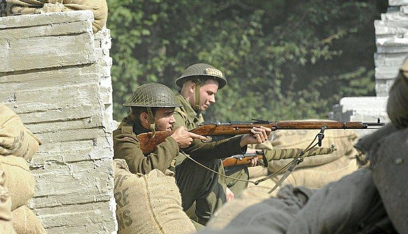 Rekonstrukcja bitwy pod Monte Cassino
