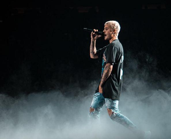 Justin Bieber na scenie