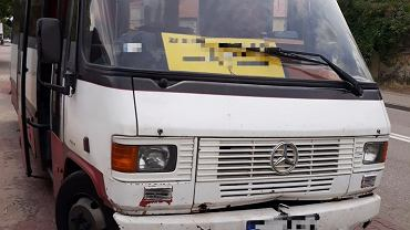 Autobus ruina