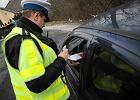 Funkcjonariusze drogówki podczas pracy, Opole