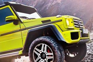 Salon Genewa 2015 | Mercedes G 500 4x4 2 | Kolejne monstrum