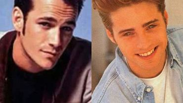 Luke Perry, Jason Priestley.