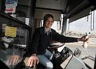 Kierowca lubelskiego autobusu Magdalena Ma�ek