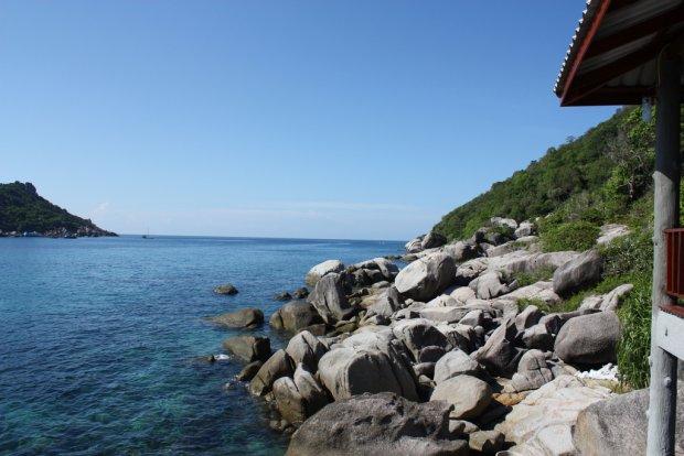 Skalista wyspa Ko Tao