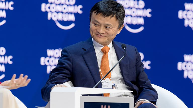 Jack Ma - założyciel i CEO Alibaba Group