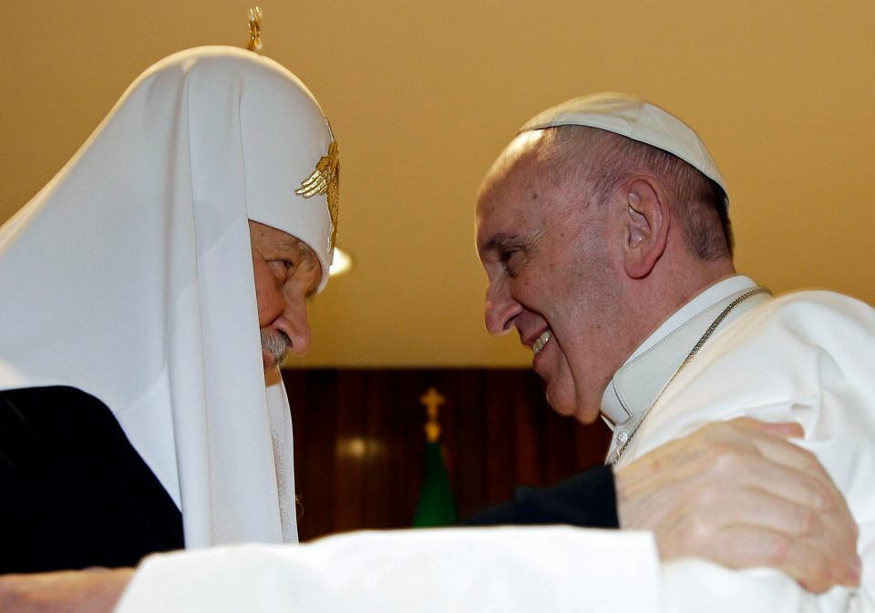 Papież Franciszek i patriarcha Cyryl