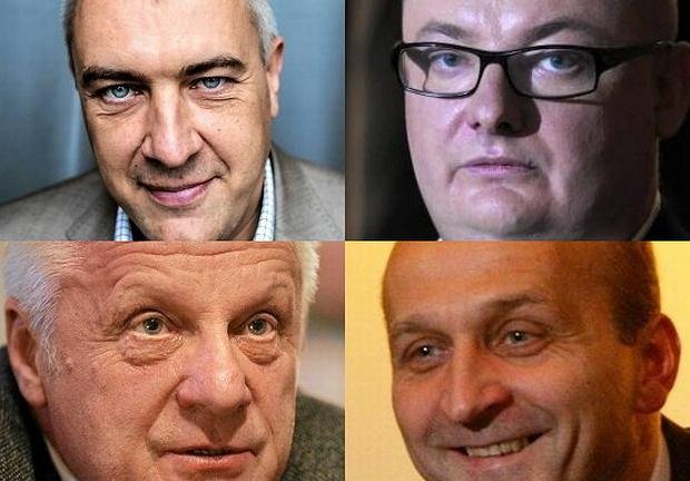 Roman Giertych, Michał Kamiński, Stefan Niesiołowski, Kazimierz Marcinkiewicz