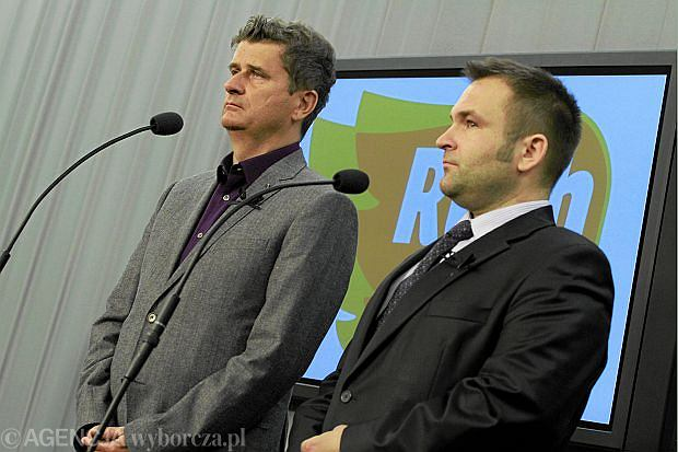 Pose� Janusz Palikot i Bart�omiej Bodio