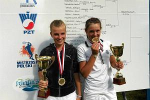 Szymczuch triumfowa�a w mi�dzynarodowych zawodach tenisa