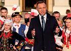 Prezydent Andrzej Duda w Leżajsku mówił o 'wyimaginowanej wspólnocie'