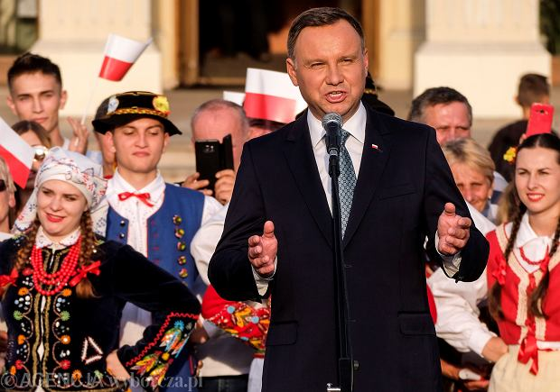 Zdjęcie numer 2 w galerii - Andrzej Duda myślał w Leżajsku o Polexicie? Szczerski: czerpał z ust ojców założycieli UE