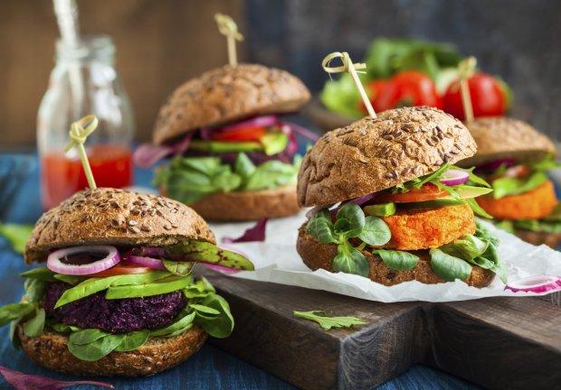 Warzywne burgery