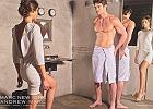 """""""50 twarzy Greya"""" zainspirowa�a tw�rc�w kampanii reklamowej jednej z firm odzie�owych do odtworzenia jednej ze scen z powie�ci. W posta� Anastazji wcieli�a si� Miss Universe 2008 - Dayana Mendoza, a Christiana - szkocki gracz w rugby - Thom Evans."""