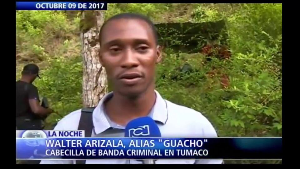 Walter Arizala - jedne z liderów partyzantki FARC w Kolumbii, który nie złożył broni.