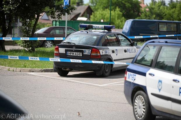 Samochody policyjne