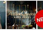 Katy Perry promuje swoje najnowsze perfumy o wymownej nazwie Killer Queen [WIDEO]