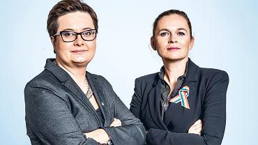 Katarzyna Lubnauer i Barbara Nowacka