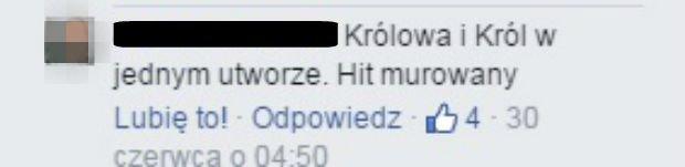 Komentarz na Facebooku Maryli Rodowicz