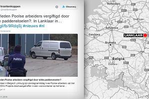 RMF FM: Ciała dwóch Polaków znaleziono w kontenerze w Belgii