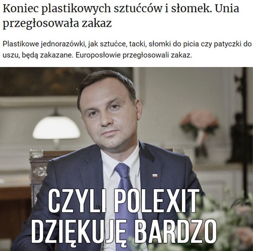 Koniec z plastikiem w UE