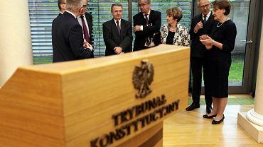 Sędziowie Zgromadzenia Ogólnego Trybunału Konstytucyjnego, 20 IV 2016 r.