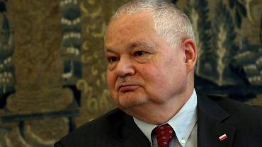 Prezes Narodowego Banku Polskiego Adam Glapiński.
