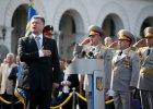 Poroszenko: B�dzie nad nami ci��y� ci�g�e zagro�enie wojskowe
