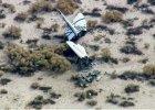 USA: Statek firmy Virgin Galactic rozbi� si� podczas lotu testowego [WIDEO]