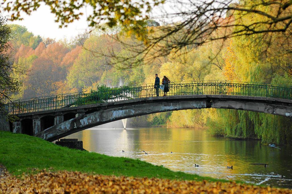 'Japoński' mostek nad jeziorem Rusałka / ŁUKASZ WĄDOŁOWSKI