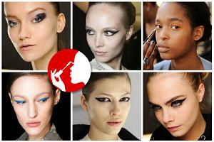 Te makijaże dopiero staną się modne, ale my kochamy je już dziś. Kocie oko prosto z wybiegu