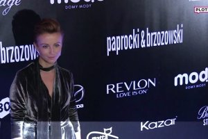 Katarzyna Zieli�ska promienieje: Szcz�liwe dziewczyny s� najpi�kniejsze! Jak prezentowa�a si� na pokazie? ZJAWISKOWO