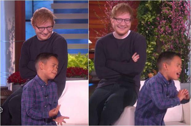 Mały Kai kocha Eda Sheerana, a to wideo jest tego najlepszym dowodem. Zobaczcie, jak poradził sobie z jego hitem i jak zareagował, gdy jego idol zaskoczył go na scenie!