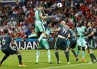 Euro 2016. Portugalia - Walia. Wysokie loty Cristiano Ronaldo