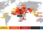 MSZ od dawna ostrzegało przed zagrożeniem w Tunezji. Gdzie jeszcze nie jeździć lub uważać? [MAPA]