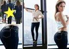 """Kilka tygodni temu piosenkarka wypuściła na rynek swoją najnowszą, jesienną kolekcję ubrań i dodatków - J.Lo by Jennifer Lopez. Na zdjęciach z sesji do katalogu kształty gwiazdy """"powinny"""" być dopieszczone przez grafików. Czy rzeczywiście tak było, widać najlepiej porównując fotografie z kampanii z tymi zrobionymi artystce na ulicy przez paparazzi. To te same jeansy!"""