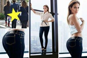 Kilka tygodni temu piosenkarka wypu�ci�a na rynek swoj� najnowsz�, jesienn� kolekcj� ubra� i dodatk�w - J.Lo by Jennifer Lopez. Na zdj�ciach z sesji do katalogu kszta�ty gwiazdy powinny by� dopieszczone przez grafik�w. Czy rzeczywi�cie tak by�o, wida� najlepiej por�wnuj�c fotografie z kampanii z tymi zrobionymi artystce na ulicy przez paparazzi. To te same jeansy!