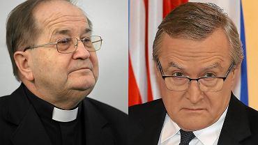 O. Tadeusz Rydzyk i minister Piotr Gliński