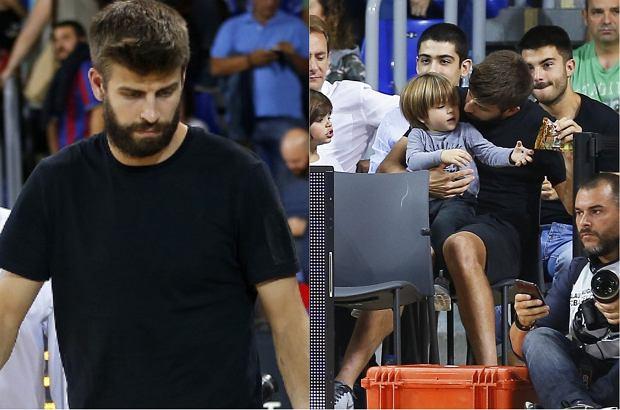 Gerard Pique zabrał synów na mecz koszykówki. Shakira w tym czasie brała udział w próbach do swojej nadchodzącej trasy koncertowej.