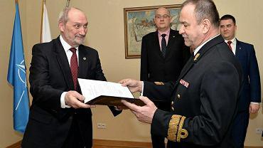 Powołanie kadm. Mirosława Mordela na inspektora Marynarki Wojennej (marzec 2016)