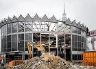 Rozbiórka warszawskiej Rotundy PKO, 10 marca 2017