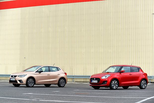 Seat Ibiza 1.0 TSI vs. Suzuki Swift 1.0 BoosterJet - porównanie. Dwie filozofie, jeden segment