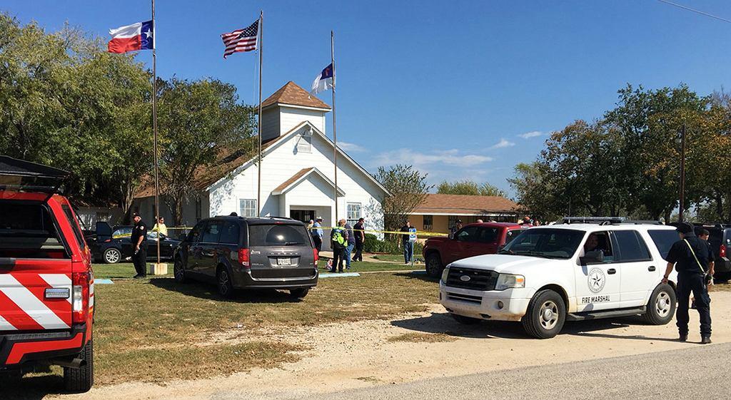 Strzelanina w kościele w Teksasie