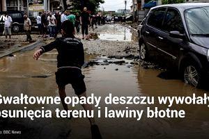 Co najmniej 21 osób zginęło w wyniku powodzi w Macedonii. Władze ogłosiły żałobę narodową